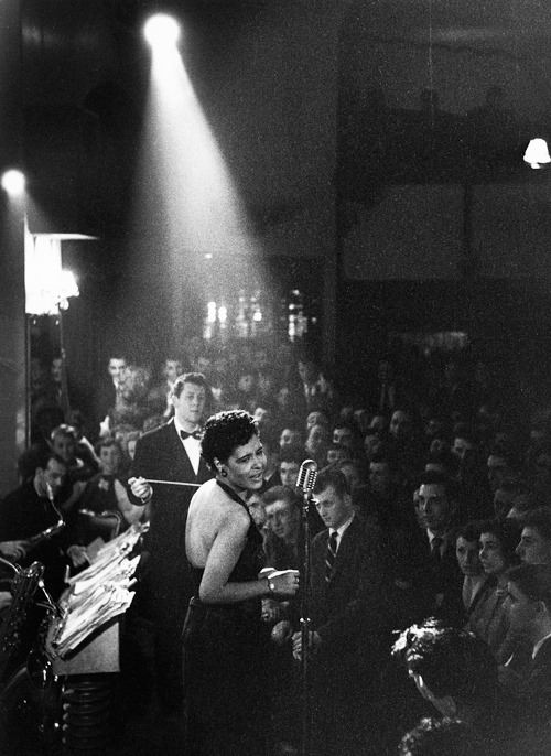 Photo by Charles Hewitt_Billie Holiday_1954