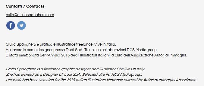 Contatti Giulia Spanghero